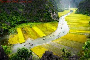Ninh Bình – Vẻ đẹp của tạo hóa ban tặng