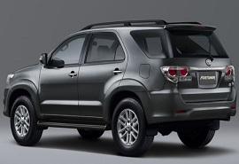 Thuê xe Toyota Fortuner