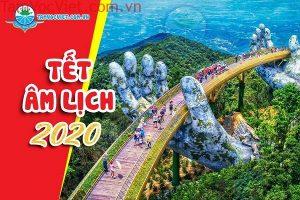 Tour Tết Canh Tý 2020 Bà Nà 1 Ngày Từ Đà Nẵng