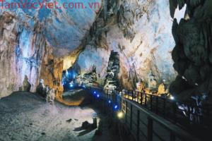 Tour Đà Nẵng – Động Thiên Đường – Sông Chày Hang Tối 3N2Đ